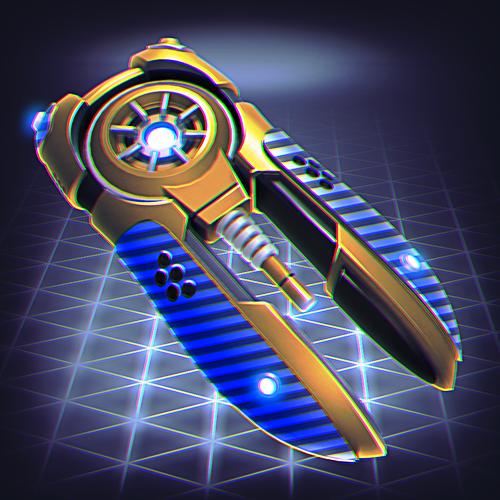 laser cannon infinity blueprint
