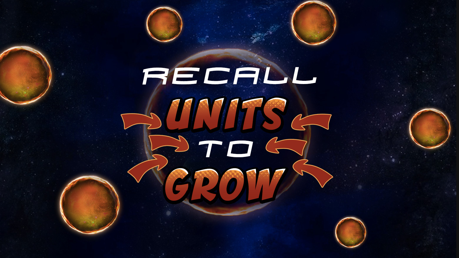 Recall units to grow