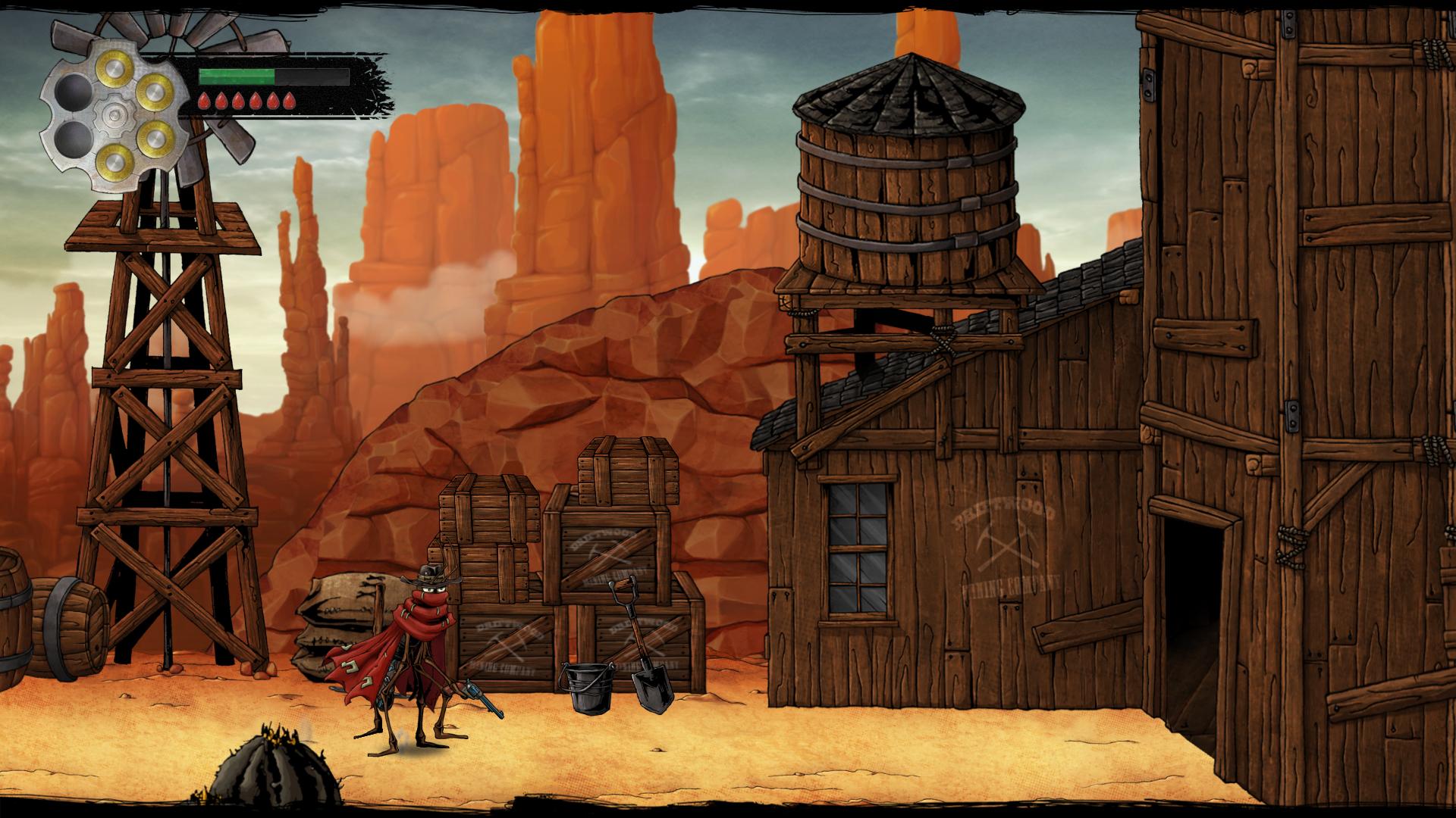 First demo version screenshot