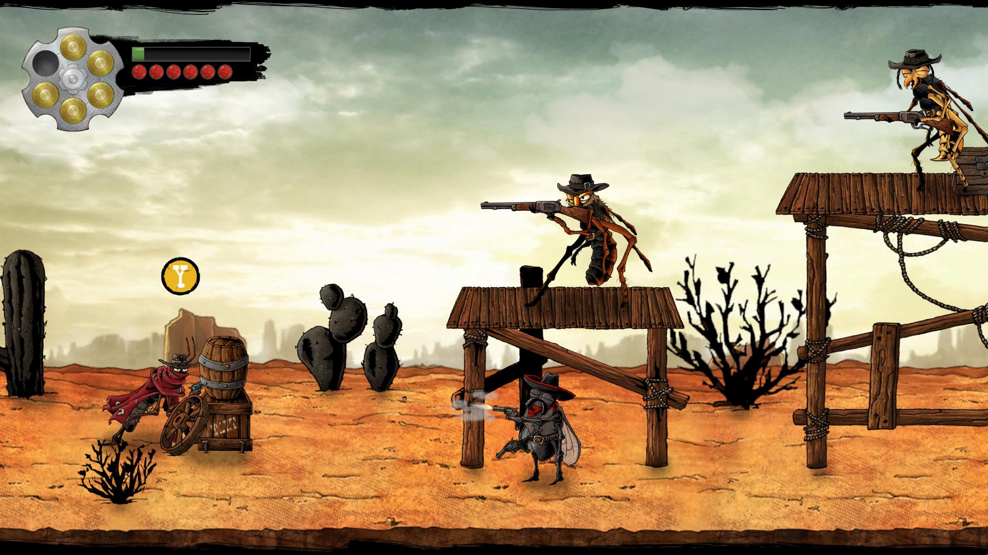 First playable prototype screenshot