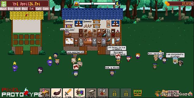 Shop Gameplay