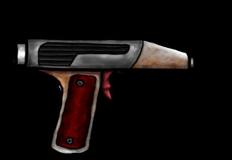 Pistol Laser Weak Middle