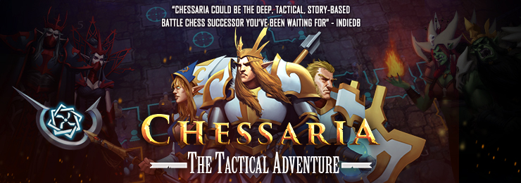 Chessaria Chess VideoGame Banner