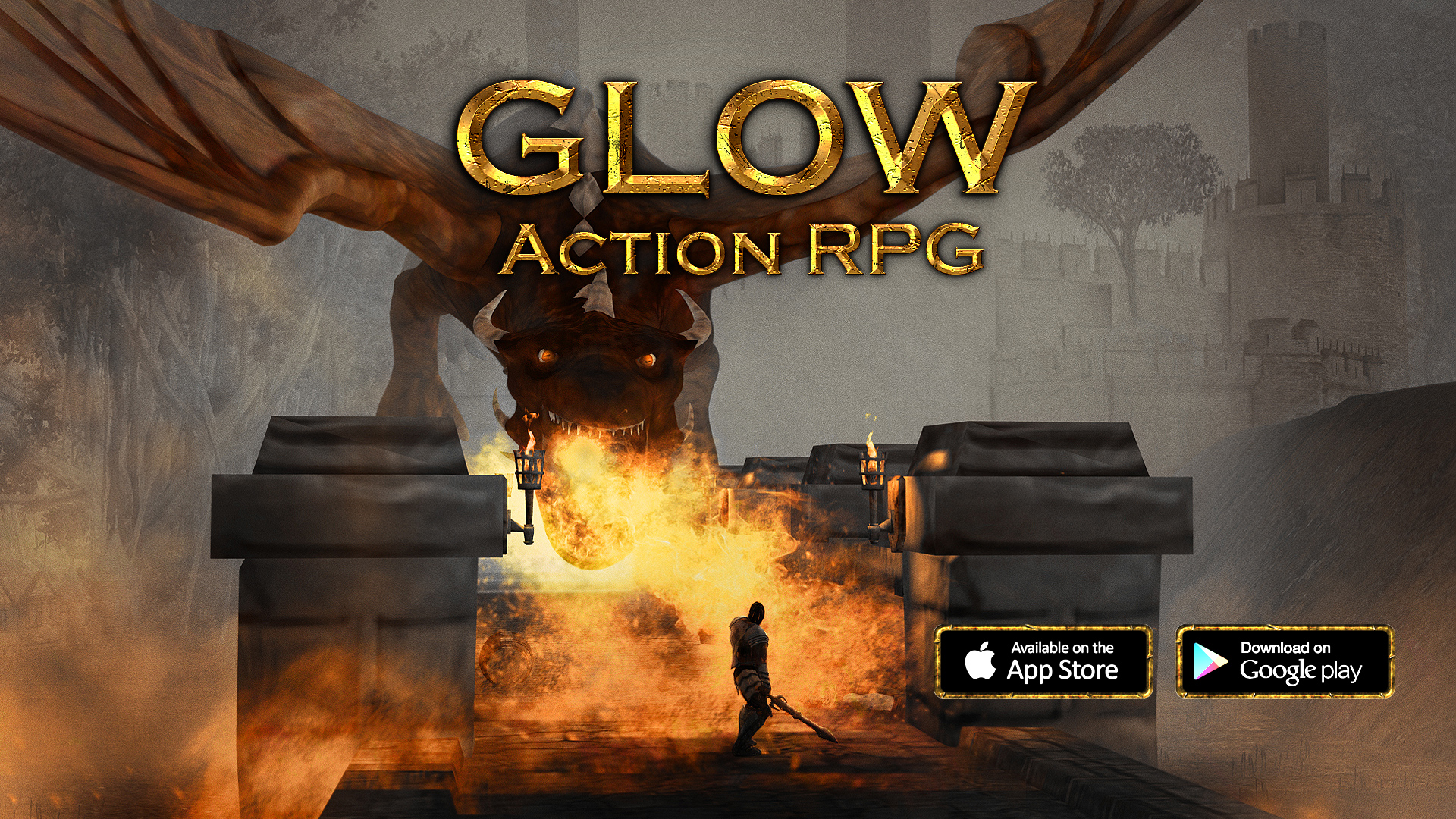 glow action rpg for ios android