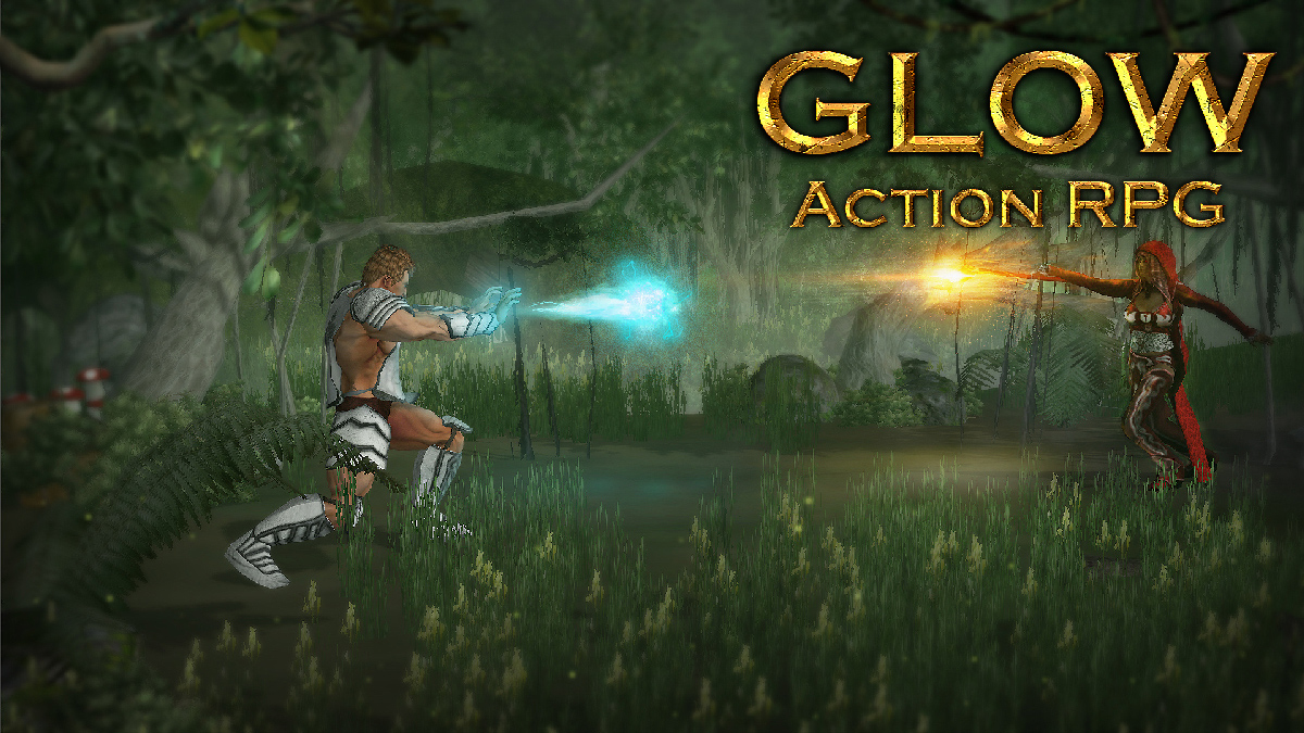 glow action rpg for ios and android