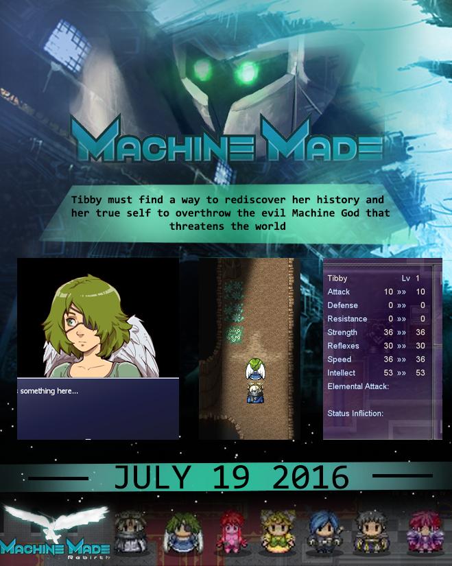 machine made rebirth