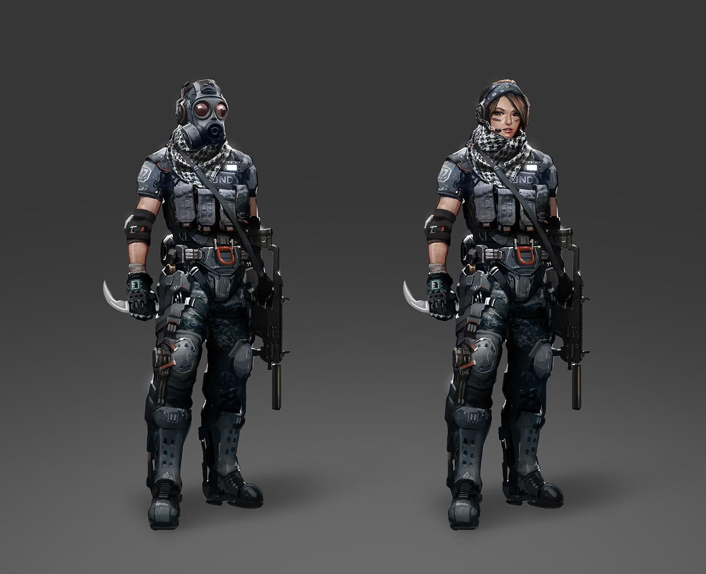 Commando Color 01