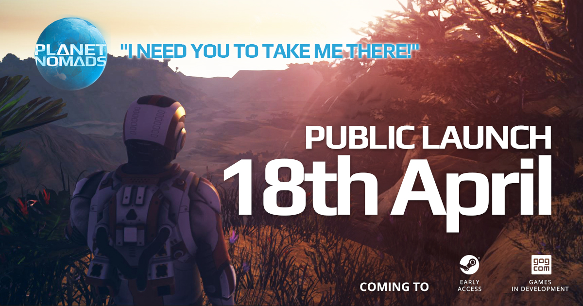 Public Launch of Planet Nomads