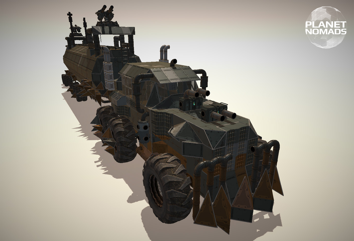 Mad Max Fury Road War Rig - Planet Nomads