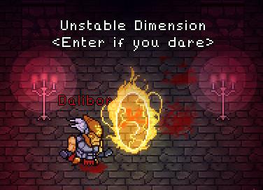 unstable dimension