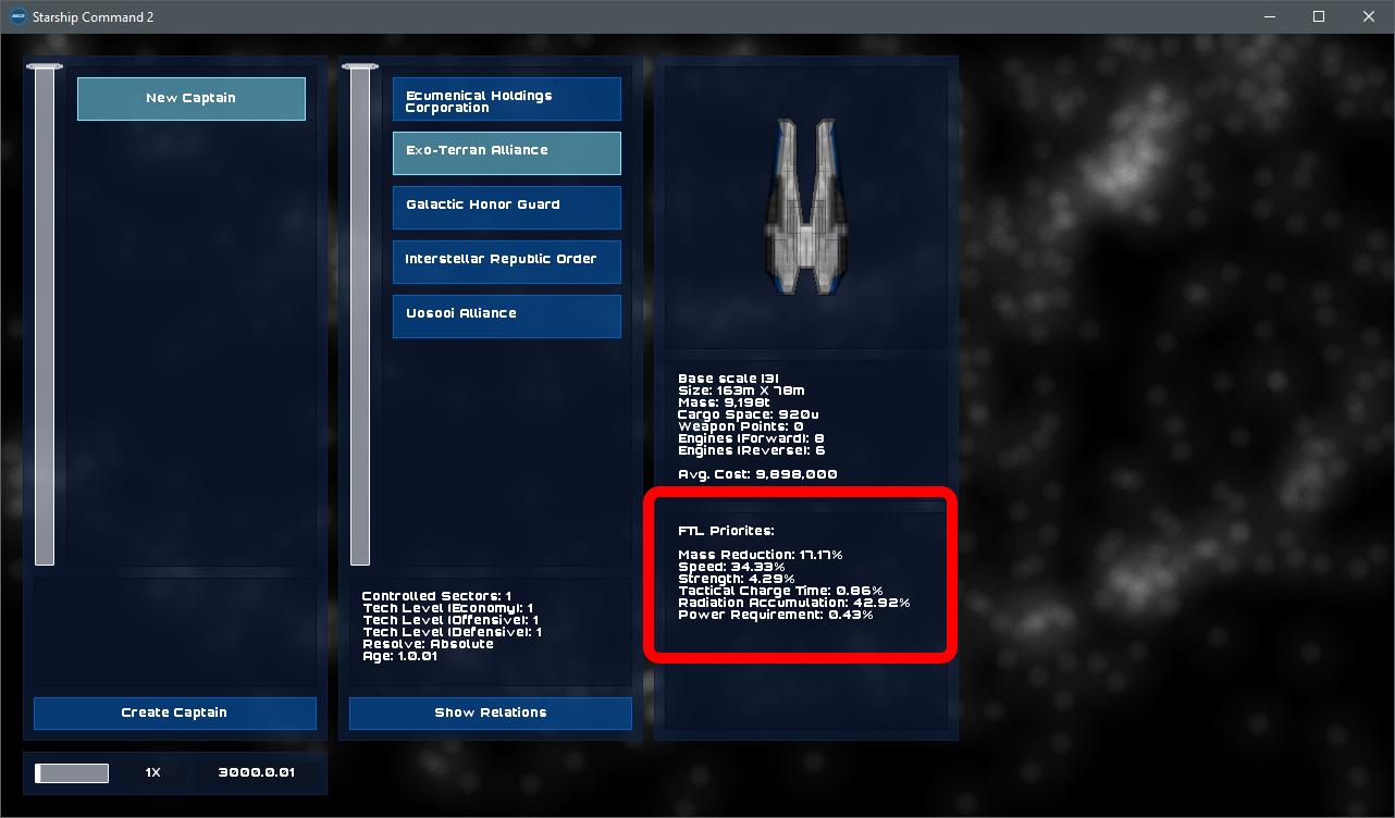 Empire FTL Priorities