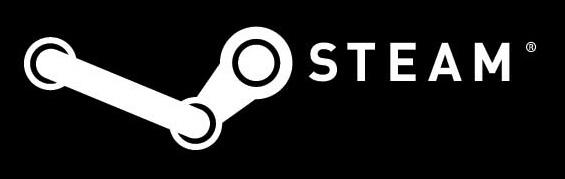 Logo Steam blackBG