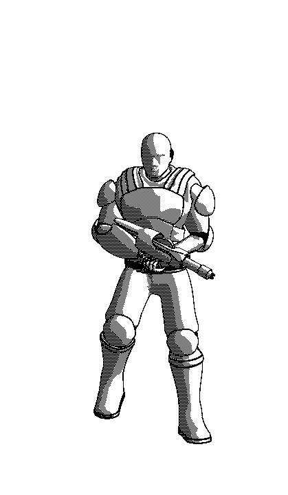 Soldier Bay Zeno Rifle ENTER 025