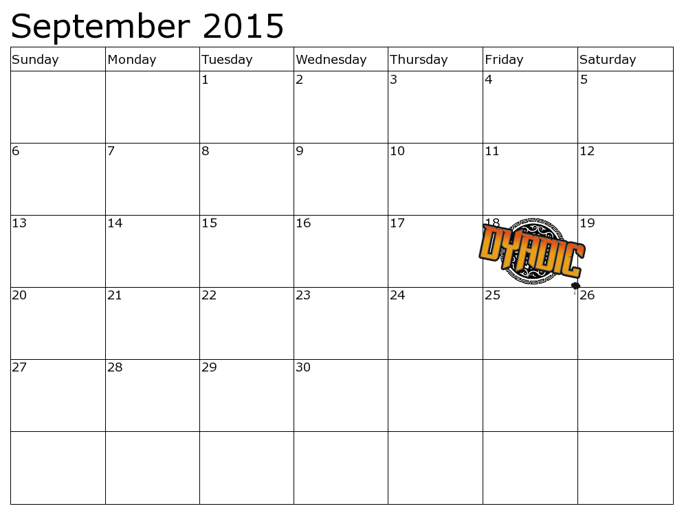Demo Calendar