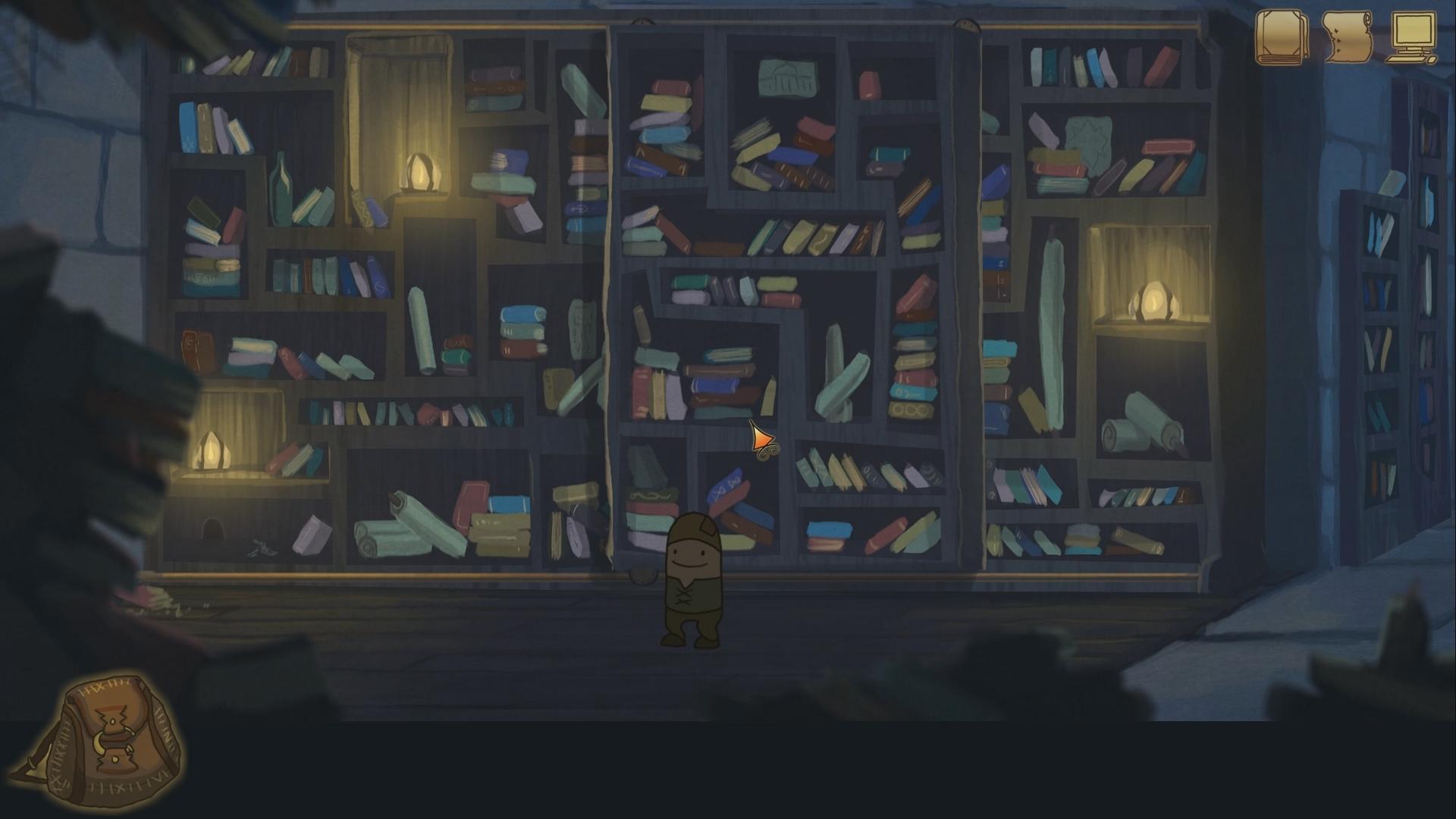 Trailer library screen