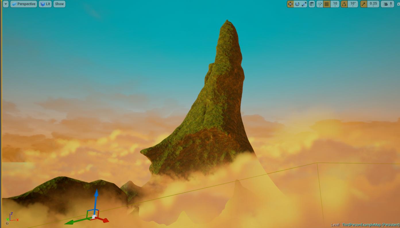 First Wonder Island Concept 2
