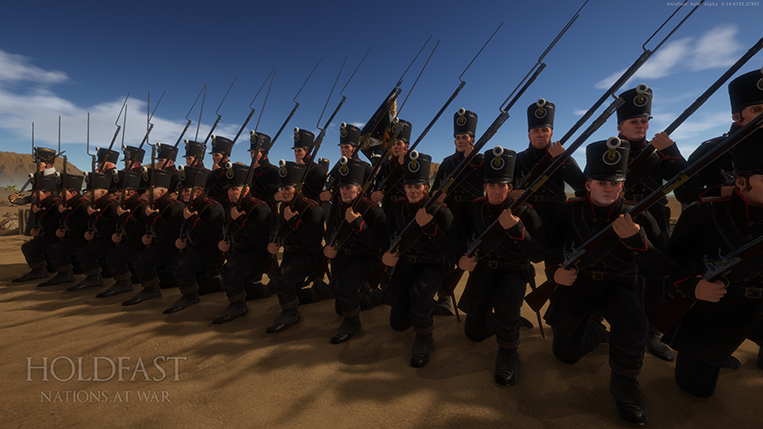 Holdfast NaW - Prussian Line Inf 1