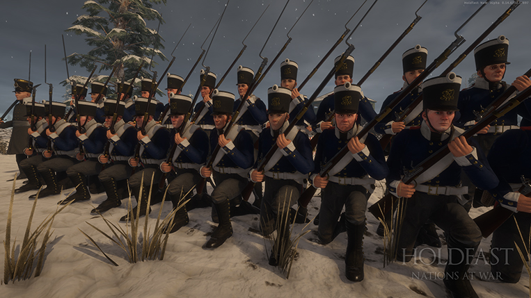 Holdfast NaW - Prussian Line Inf