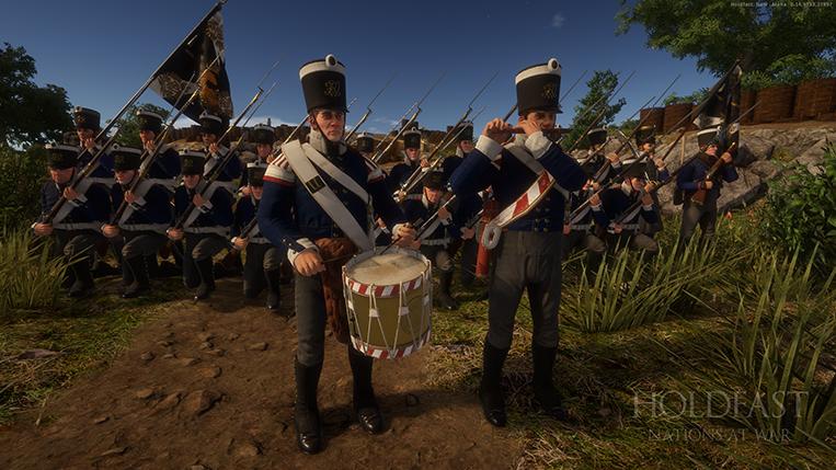 Holdfast NaW - Prussian Musician
