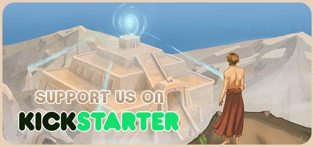 kickstarter support