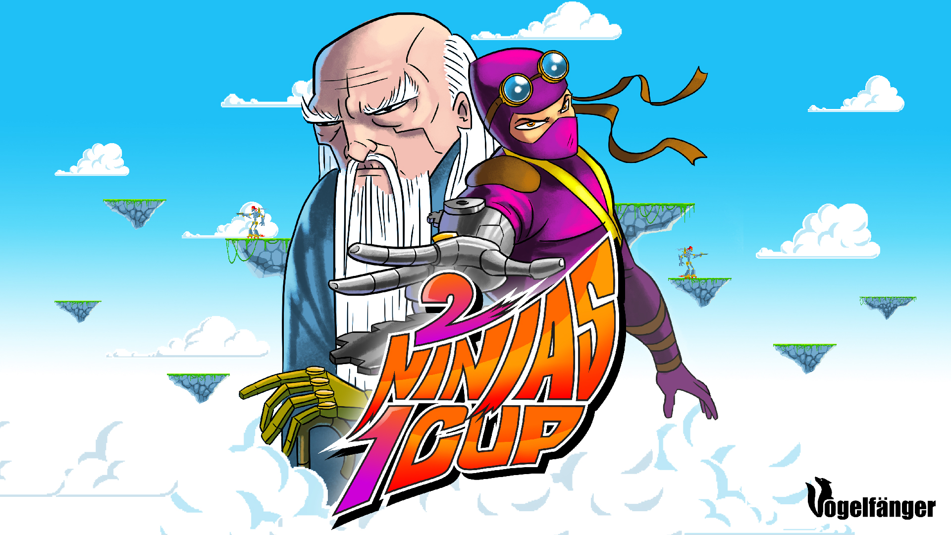 2 Ninjas 1 Cup
