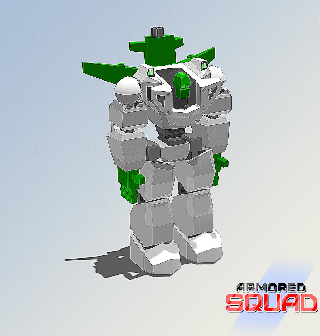 Armored big guy