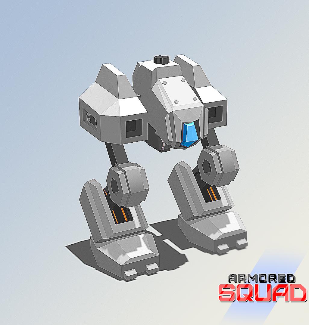 Bipedal Mech example