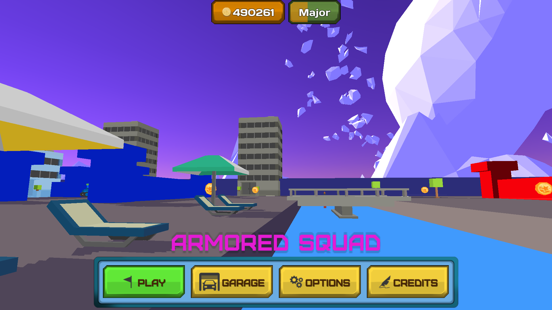 Screenshot from the main menu