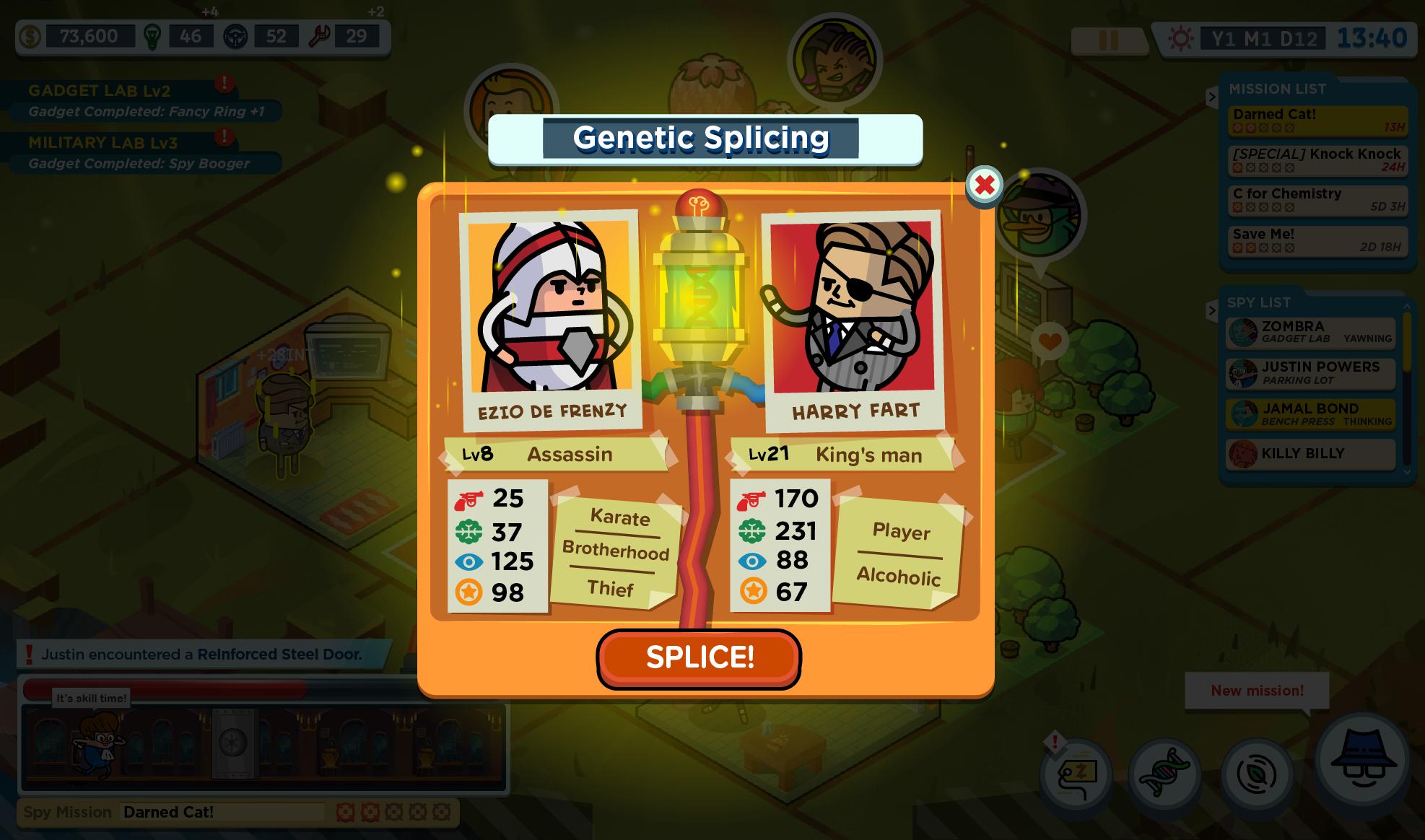 Genetic Splicing