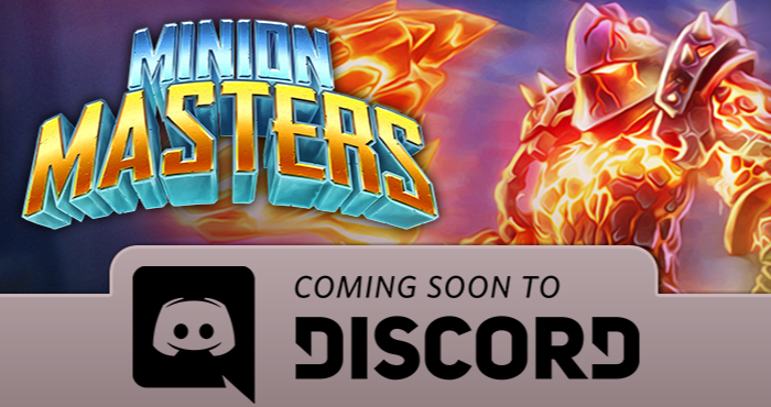 minion masters on discord