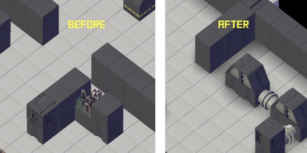 shadows comparison