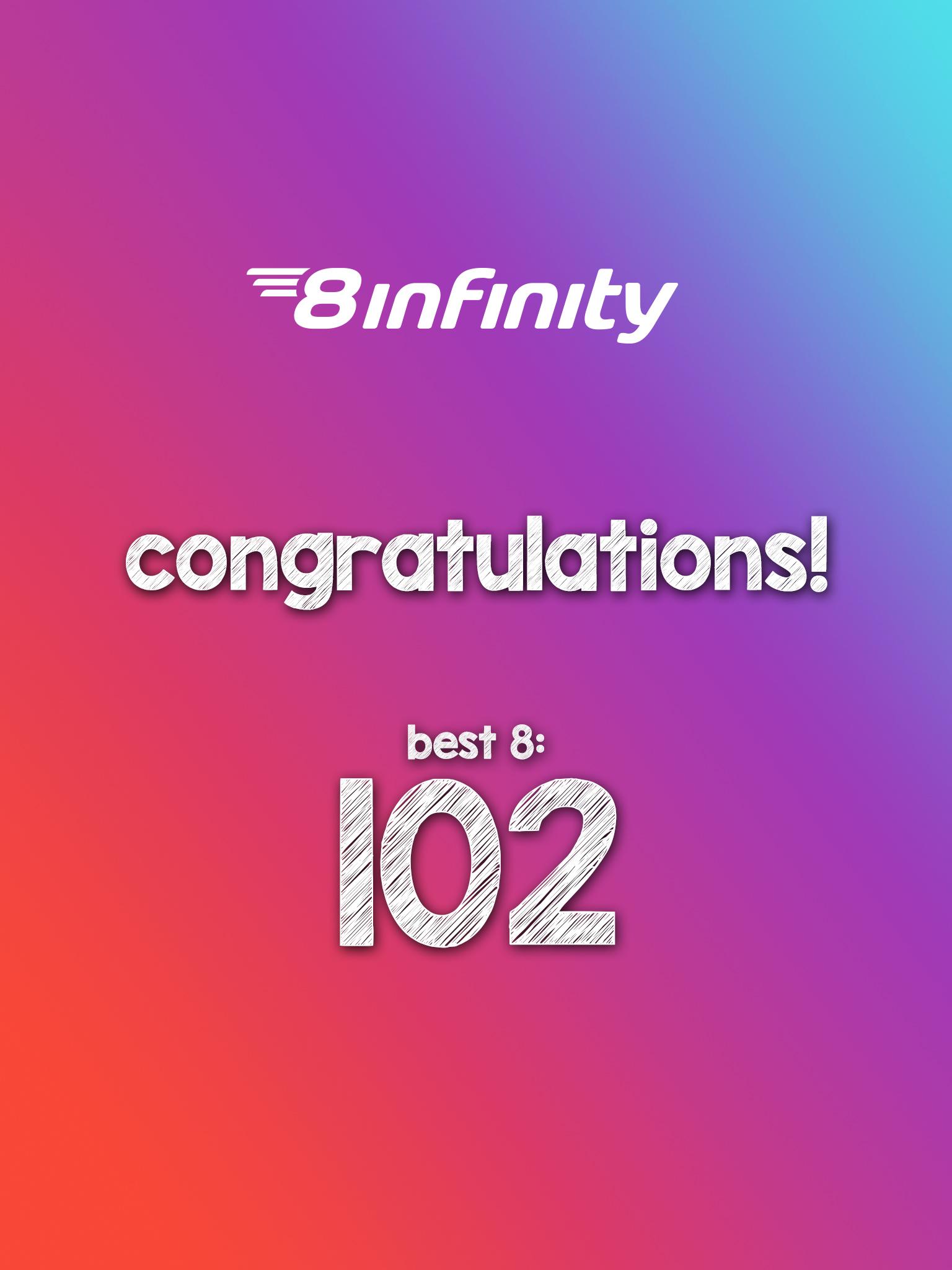 10  8infinity   congratulation