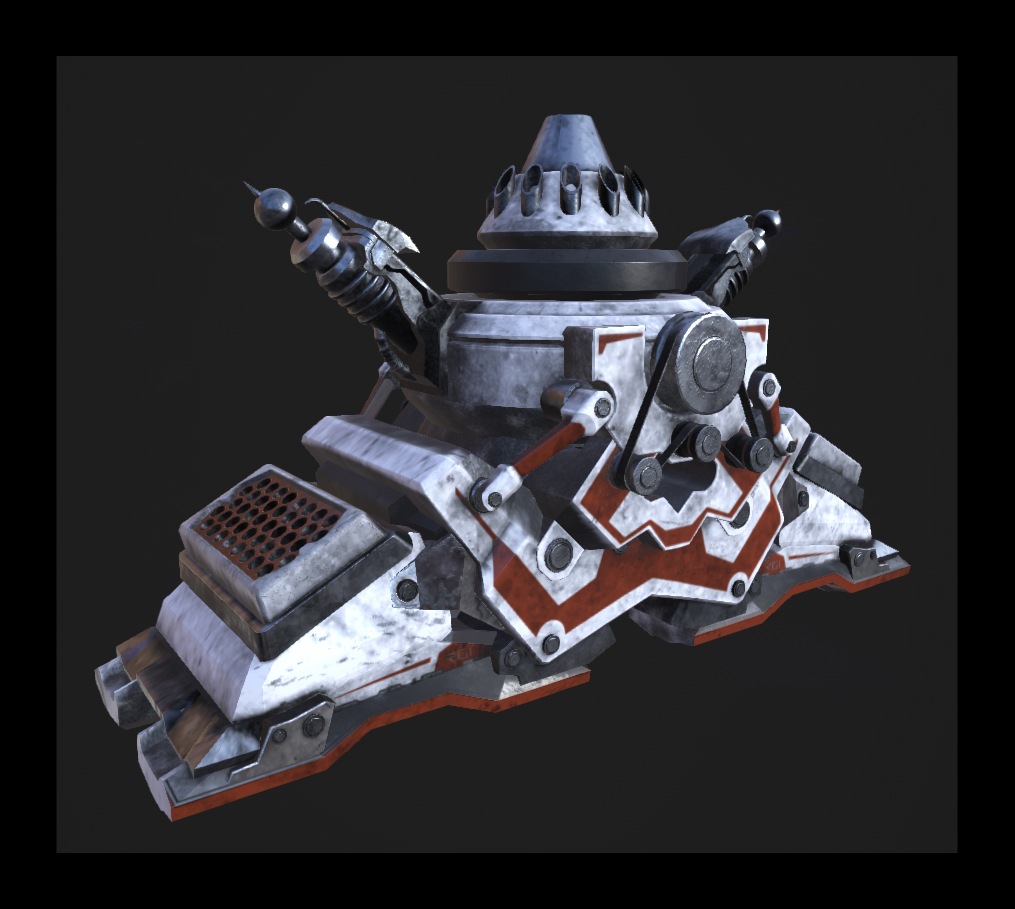 Railgun VehicleUpdate Textured