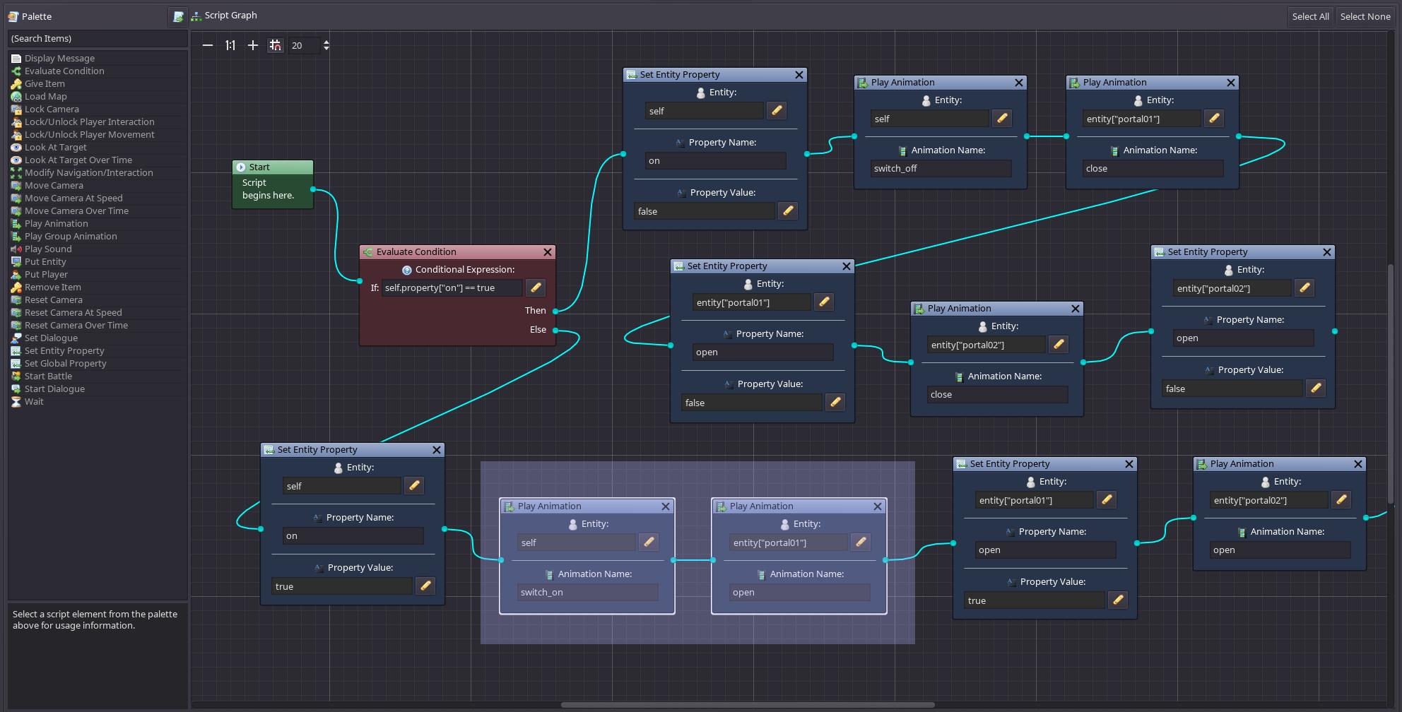 08 script graph updates