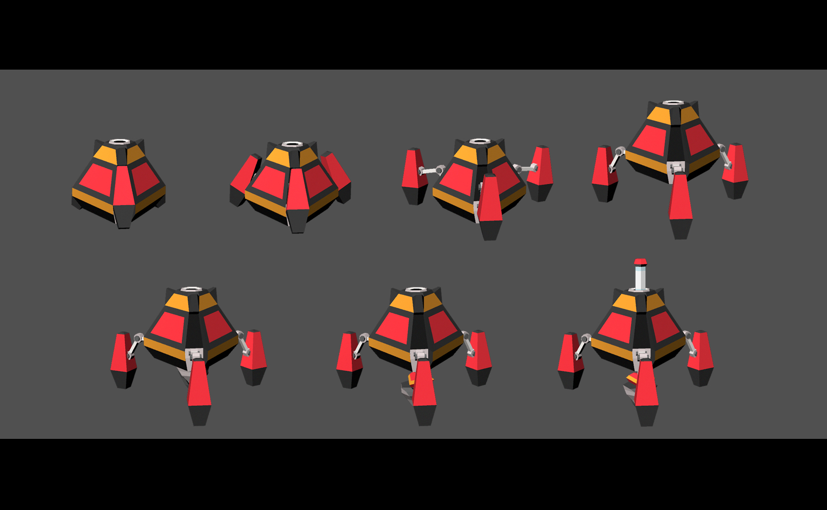 Drill Animation Stages