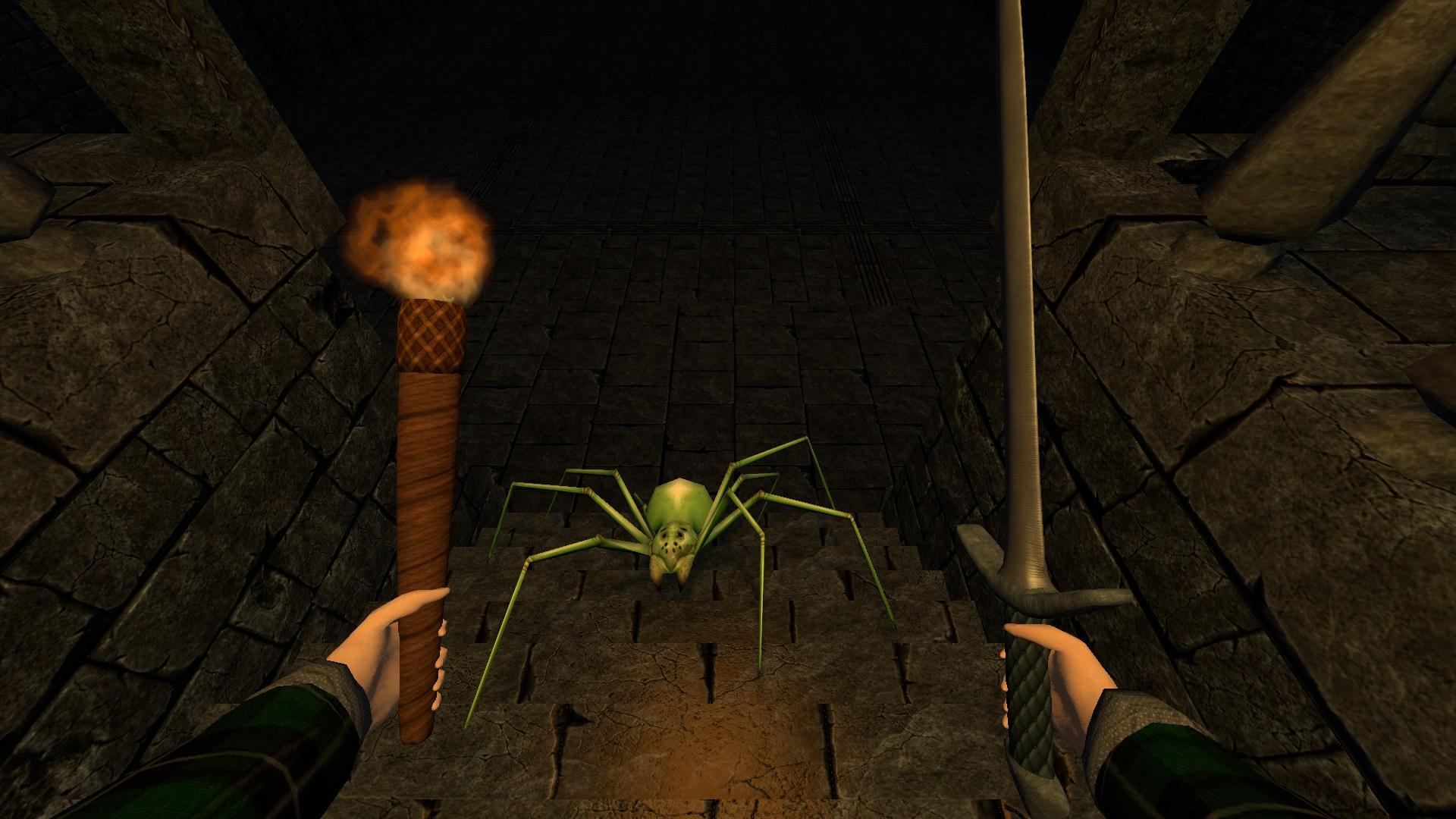 CT091 Sword SpiderOnStairs