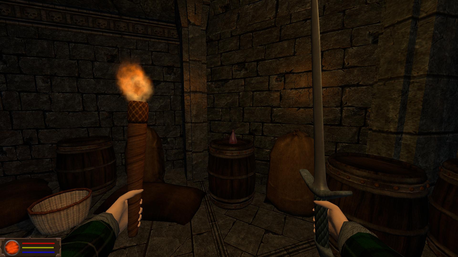 CastleTorgeath   HUD and potion
