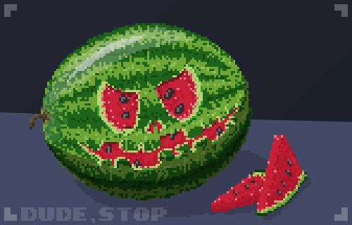 Dude, Stop - Watermelon