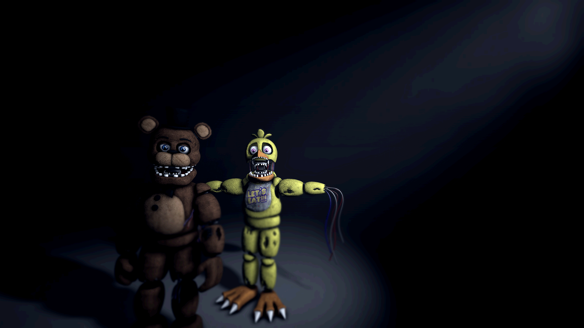 Withered Freddy and Chica image - Imthepurpleguy - Indie DB