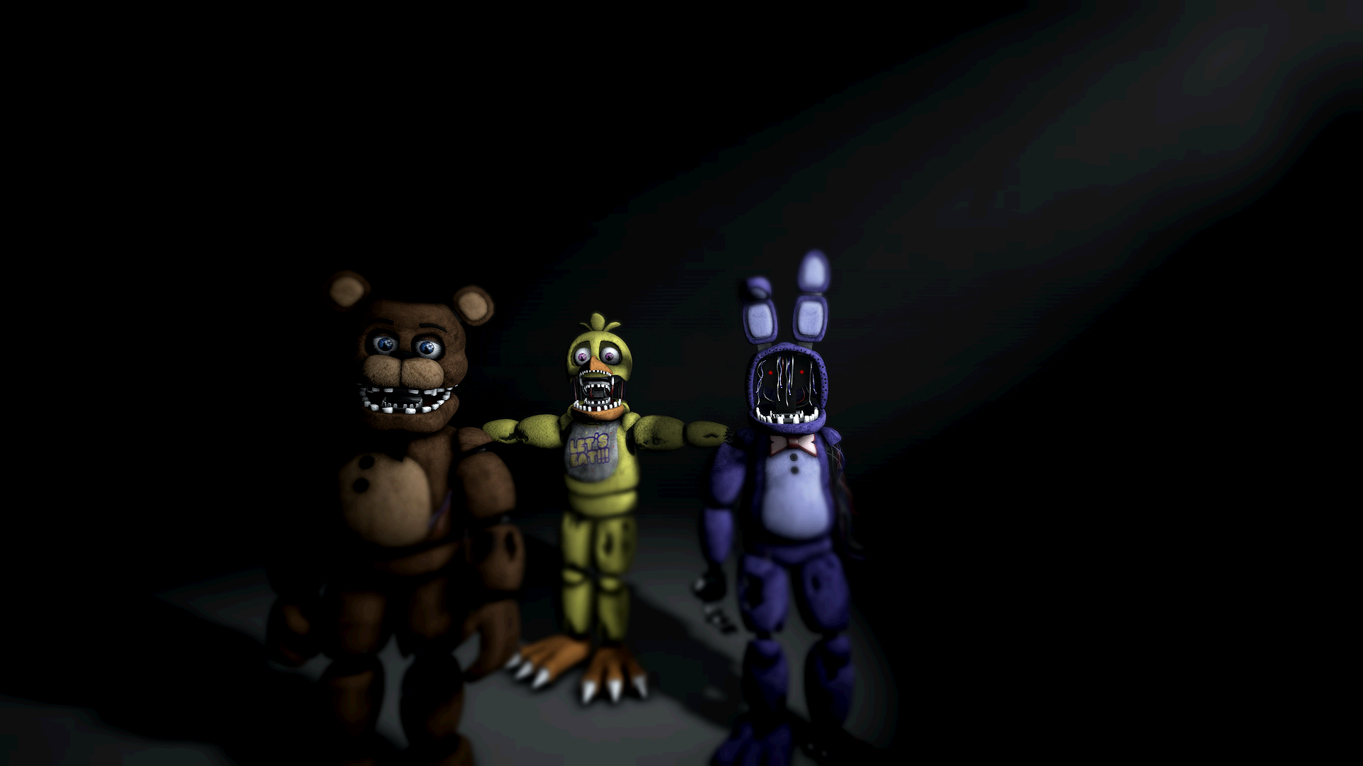 Withered Freddy, Chica, and Bonnie image - Imthepurpleguy - Indie DB