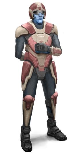 Guard concept art