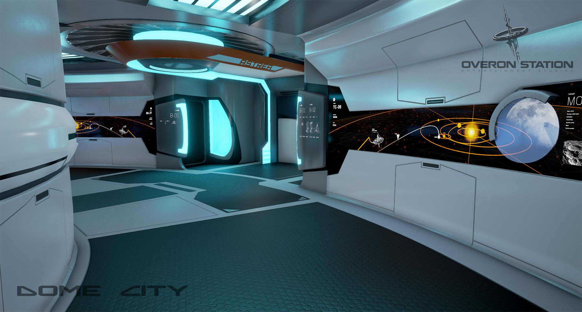 DomeCity TessaCorridor2