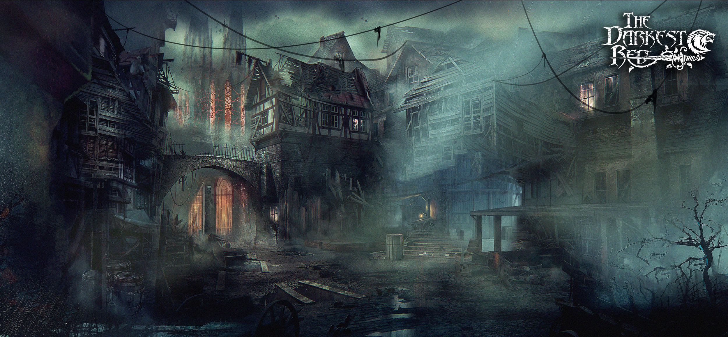 Ruined town