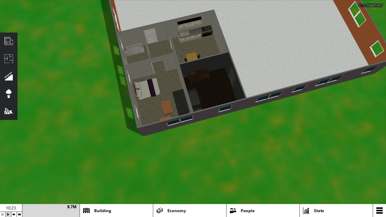 New models for living room, kitchen and bathroom