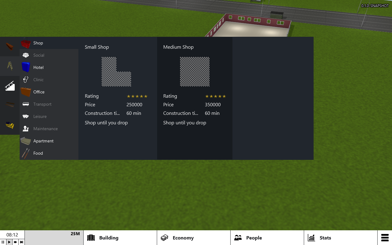 New UI example when we testing the some different themes