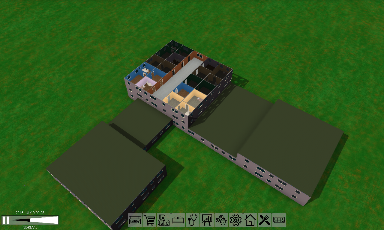 First screenshot of GUI