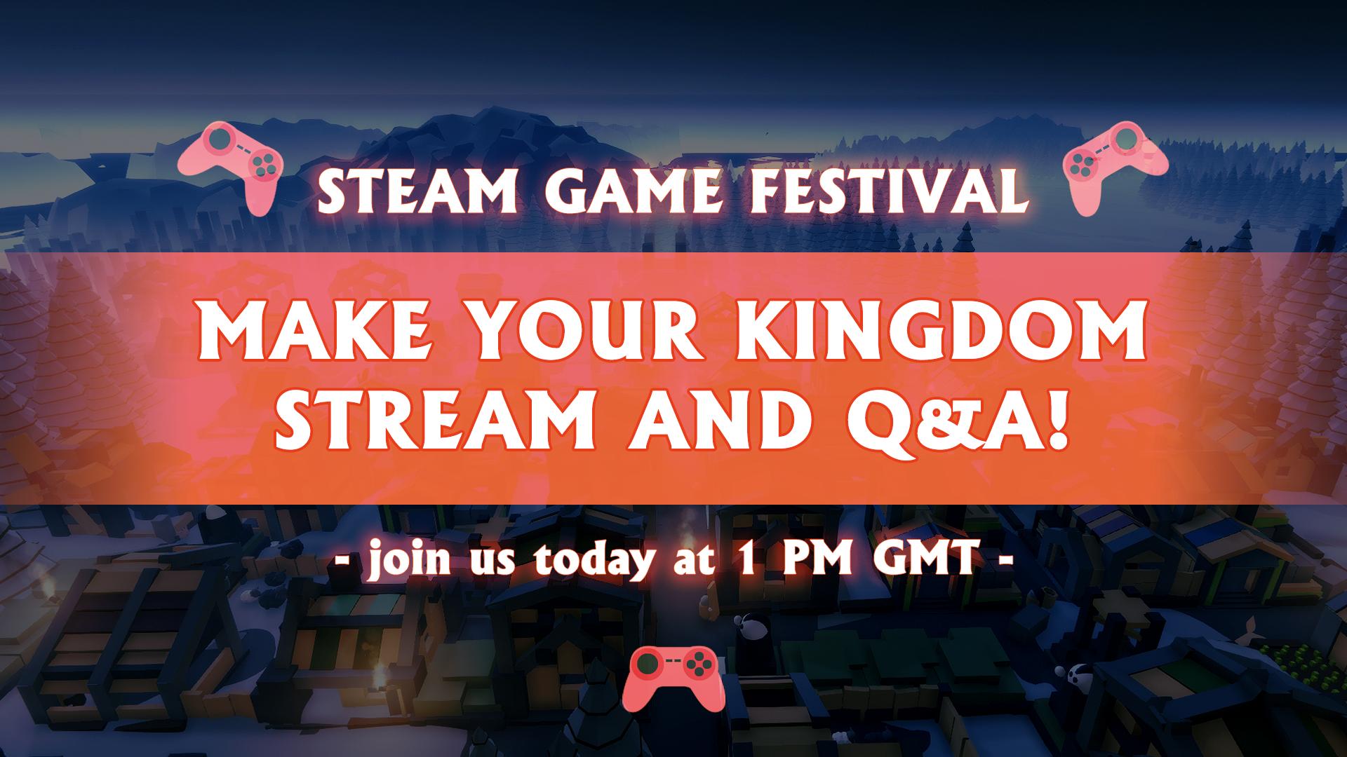 steam games fest today en
