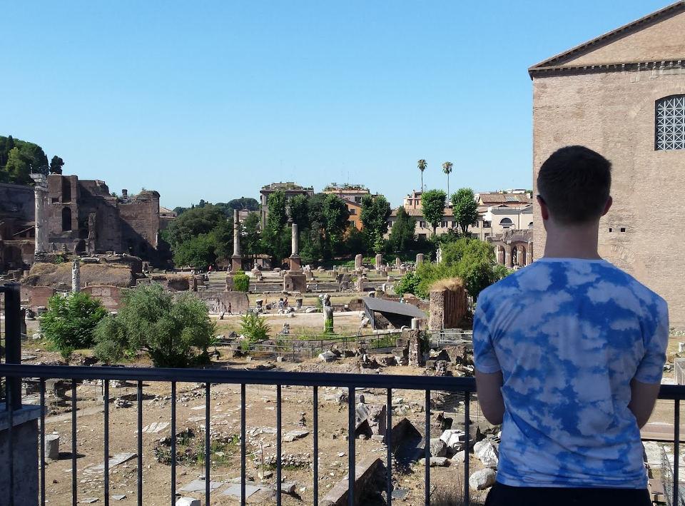 Nick at Roman Forum 1
