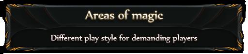 Areas of magic