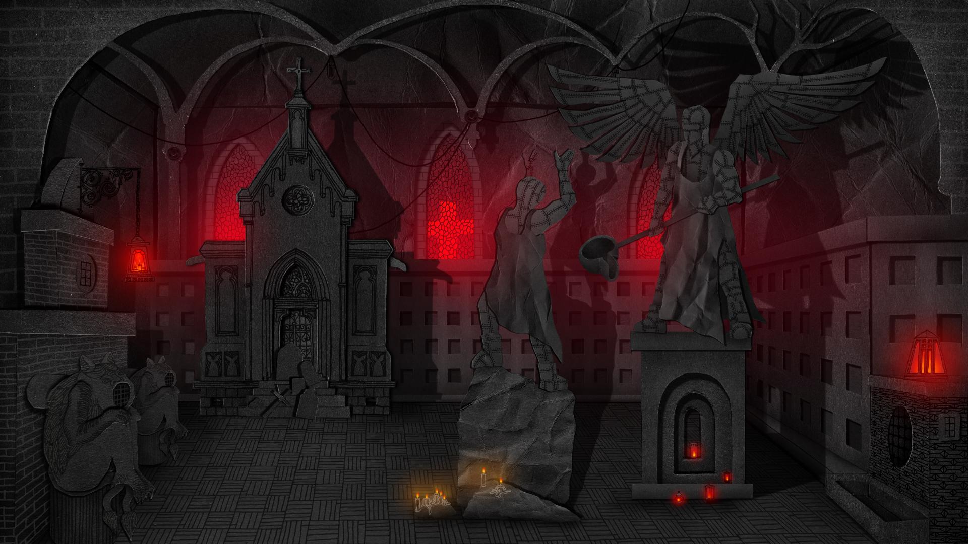 In-game scene #1